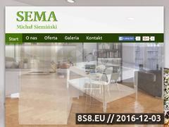 Miniaturka domeny www.parkietysema.pl
