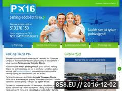 Miniaturka domeny www.parking-obok-lotniska.pl