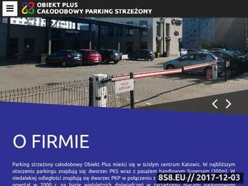 Zrzut strony Parking w Katowicach
