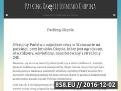 Miniaturka domeny www.parkinglotnisko18.pl