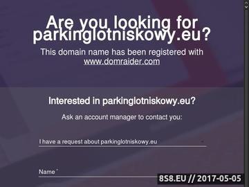Zrzut strony Parking Rebiechowo