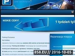Miniaturka domeny www.parkingnakrotkiej.pl