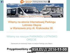 Miniaturka domeny www.parkingokecie24.pl