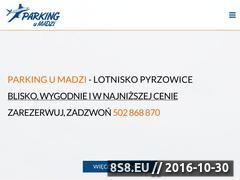 Miniaturka domeny www.parkingumadzi.pl