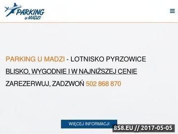 Zrzut strony Parking Pyrzowice