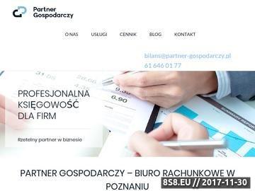Zrzut strony Dobre biuro księgowe Poznań
