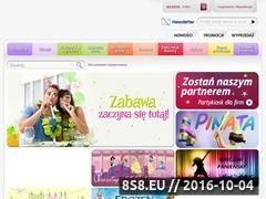 Miniaturka domeny www.partykiosk.pl