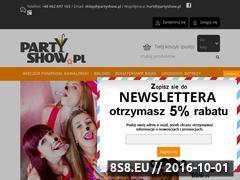 Miniaturka domeny partyshow.pl