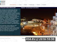 Miniaturka domeny www.parysz-projekt.pl