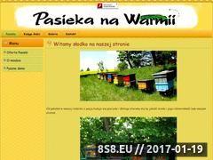 Miniaturka domeny www.pasiekanawarmii.pl