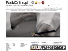 Miniaturka domeny www.paskionline.pl