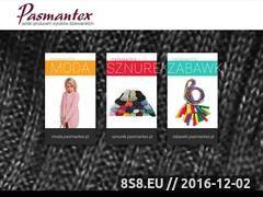 Miniaturka domeny www.pasmantex.pl
