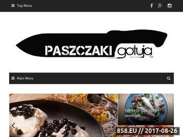 Zrzut strony Paszczak gotuje