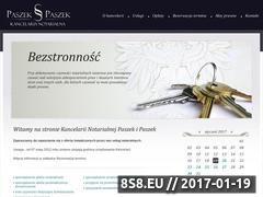 Miniaturka domeny www.paszek-paszek.pl