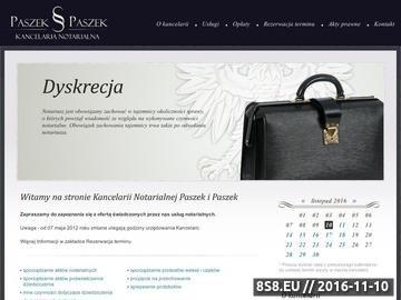 Zrzut strony Kancelaria notarialna Świętochłowice