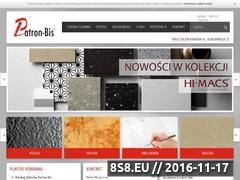 Miniaturka domeny www.patron-bis.pl