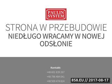 Zrzut strony Paulinsystem.pl - automatyczne nawadnianie Poznań