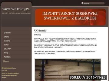 Zrzut strony Import drewna