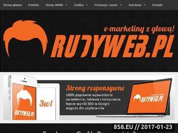 Zrzut strony Paweł Białach - freelancer, grafik, programista, Warszawa