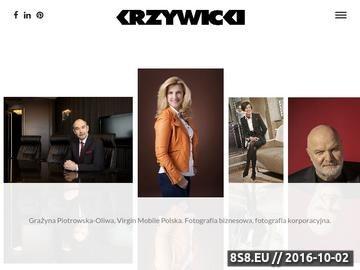 Zrzut strony Fotografia biznesowa, fotografia korporacyjna - Krzywicki