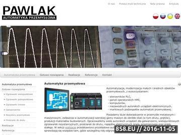 Zrzut strony Automatyka Przemysłowa PAWLAK