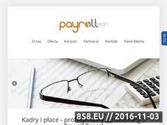 Miniaturka domeny www.payroll-team.pl