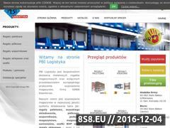 Miniaturka domeny pbilogistyka.pl
