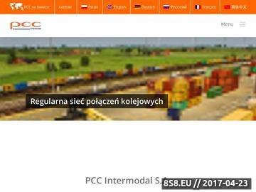 Zrzut strony Transport kontenerów - PCC Intermodal