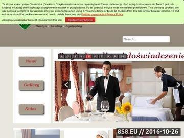 Zrzut strony Tekstylia hotelowe i restauracyjne