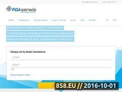 Miniaturka domeny www.pdaserwis.pl