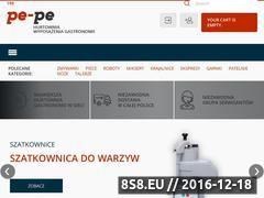 Miniaturka domeny www.pe-pe.com.pl