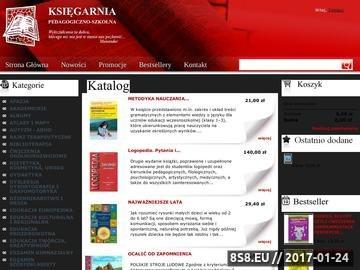 Zrzut strony Księgarnia Bydgoszcz - księgarnia szkolna