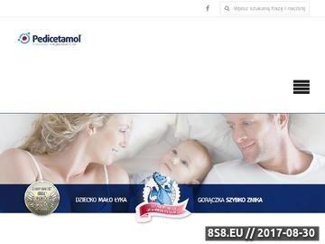 Zrzut strony Leki przeciwgorączkowe dla dzieci