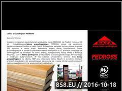 Miniaturka domeny www.pedross.pl
