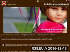 Miniaturka domeny www.peekaboo.com.pl