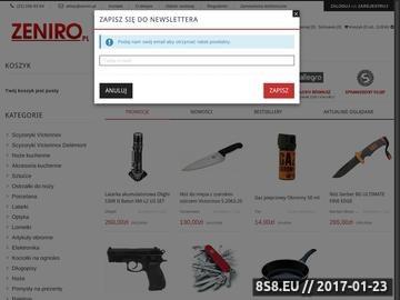 Zrzut strony Pelato.pl - noże