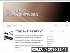 Miniaturka domeny pendrivereklamowe.org