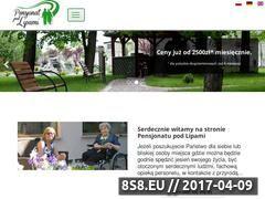 Miniaturka domeny www.pensjonat-podlipami.pl