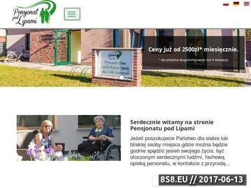 Zrzut strony Dom spokojnej starości - pensjonat-podlipami.pl
