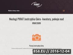 Miniaturka domeny www.pensjonatpirat.pl
