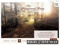 Miniaturka domeny www.pensjonattatry.pl