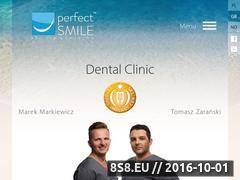Miniaturka domeny www.perfect-smile.pl