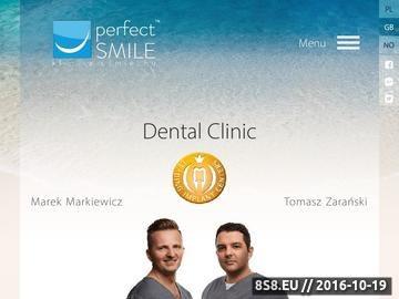 Zrzut strony Ortodoncja, implanty, stomatologia estetyczna i zachowawcza