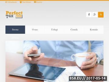 Zrzut strony Biuro rachunkowe Wrocław - Perfect Tax
