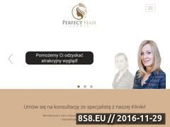 Miniaturka domeny perfecthairsystems.pl