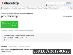 Miniaturka domeny www.perfectmodel.pl