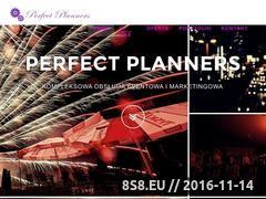 Miniaturka domeny www.perfectplanners.pl