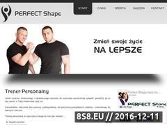 Miniaturka domeny perfectshape.com.pl