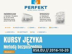 Miniaturka domeny www.perfekt.edu.pl