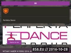 Miniaturka domeny perfekta-dance.pl